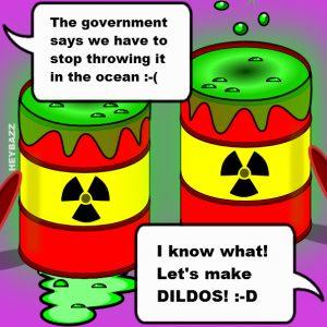 Toxic Jelly Cartoon